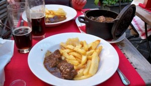 Flemish Beef Stew with Frites