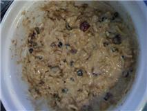 Muffin Mixture After Adding Milk