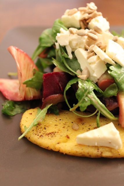 Grilled Polenta With Fennel Salad Recipes — Dishmaps